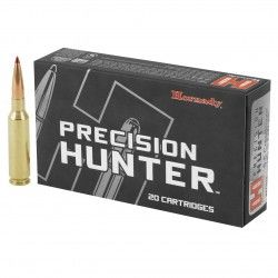 Cartouches 6.5 Creedmoor 143 gr ELD-X Precision Hunter x 20 Hornady