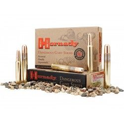 Cartouches 9.3x74R 286 gr InterLock® SP-RP x 20 Hornady
