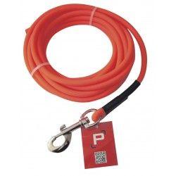Longe tubulaire orange 10 M diam 8mm