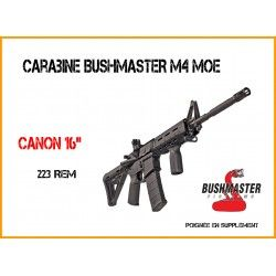 FUSIL BUSHMASTER M4 MOE A-TACS NOIR C/.223 REM