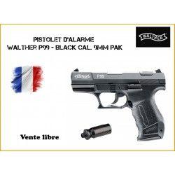 Pistolet WALTHER P99 Bronzé UMAREX cal.9mm P.A.K