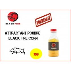 PACK ATTRACTANT BLACK FIRE CORN 6 BOUTEILLES 0.5KG
