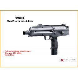 Pistolet Steel Storm Calibre 4.5mm (.177) - Umarex