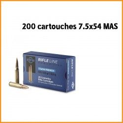 20 CARTOUCHES PARTIZAN 7.5X54 FRENCH 139GR FMJ