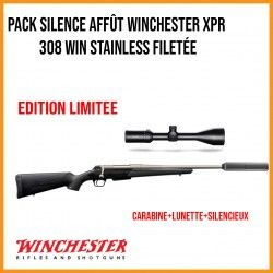 Pack silence affût WINCHESTER XPR 308 win Stainless