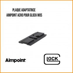 PLAQUE ADAPTATRICE AIMPOINT ACRO POUR GLOCK MOS