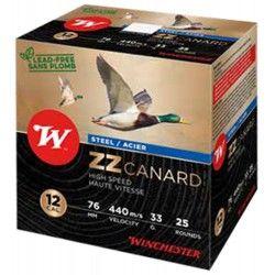 CARTOUCHES WINCHESTER ZZ CANARD ACIER - CAL. 12/76 PLB3