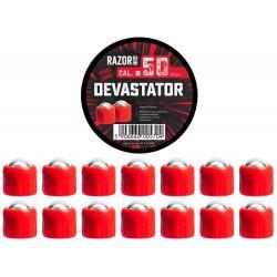 Sachet 6 plombs DEVASTATOR RAZORGUN POUR HDR 50