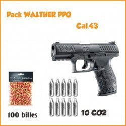 PACK Pistolet PPQ Training Marker c43 Umarex