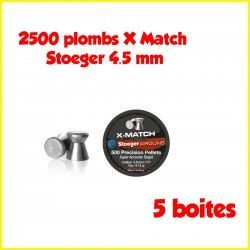 500 plombs X Match Stoeger, 4.5 mm