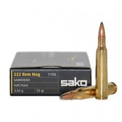 SAKO Gamehead 222 REMINGTON 55Gr