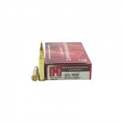 MUNITIONS HORNADY 222 REM SUPERFORMANCE VARMINT 50 GR V-MAX