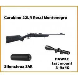 Carabine 22LR Rossi Montenegro