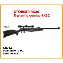 Carabine Stoeger RX20 Dynamic Combo cal 4.5 mm + lunette 4x32