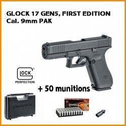 Pistolet GLOCK 17 Gen5 UMAREX cal.9mm P.A.K + MUNITIONS