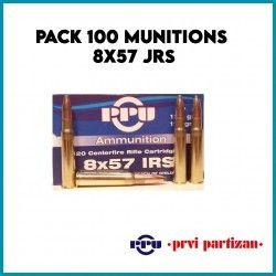 CARTOUCHE PARTIZAN / CAL. 8X57 JRS - SOFT POINT 12,7 G