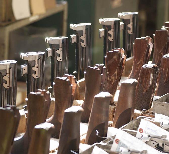 Fabrication arme Miroku
