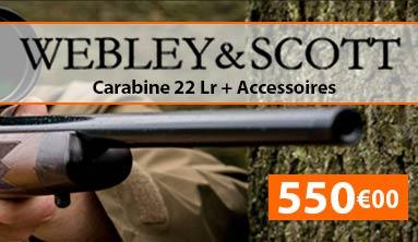 carabine webley et scott