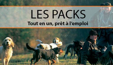 Packs chasse concept